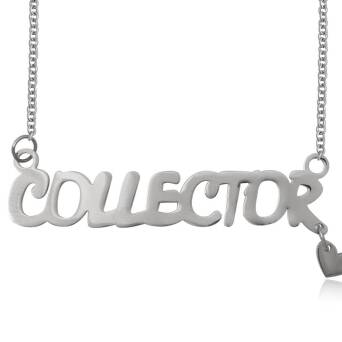Necklace steel COLLECTOR